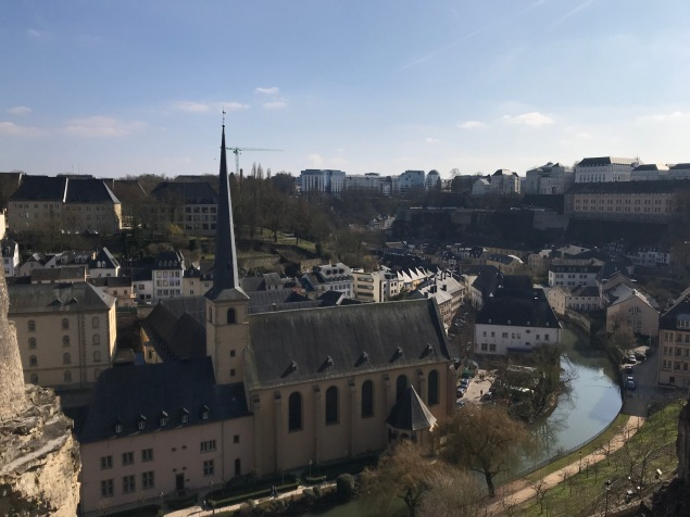 Is it a disney land? Nope, just Luxembourg.